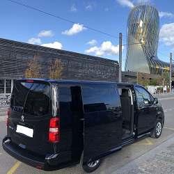 chauffeur privé VTC sur bordeaux en Van