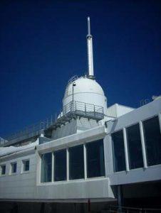 observatoire au sommet du pic du midi de bigorre